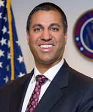 Photo of FCC Chairman Ajit Pai (courtesy: FCC)